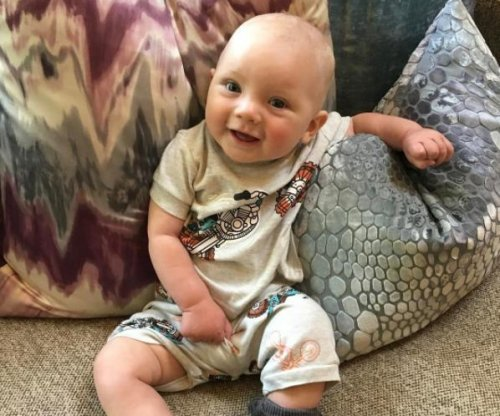 Pink shares photo of 6-month-old son Jameson