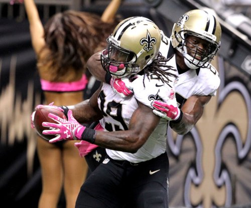 Khiry Robinson: Running back works out for New Orleans Saints