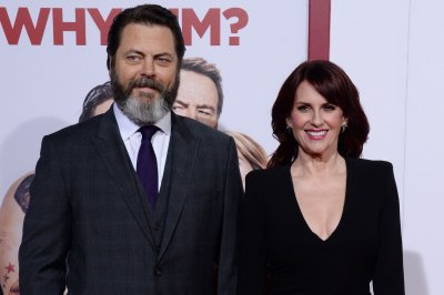 Nick Offerman, Megan Mullally reflect on romance: 'We're lucky'