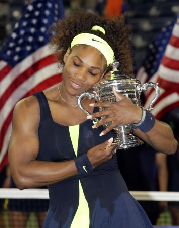 Serena Williams' 2012 stats sparkle