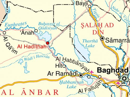 Despite reports of jihadi flag at Baiji oil refinery, unclear who has control