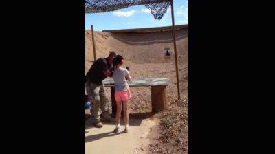Firing range instructor shot by 9-year-old girl dies