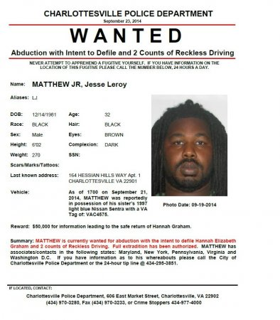 Suspect in UVA student disappearance caught in Texas