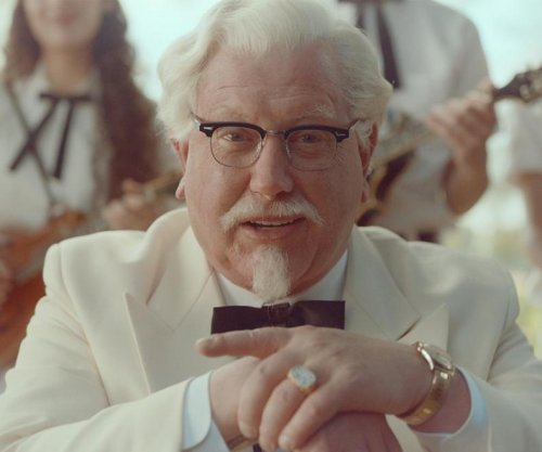Darrell Hammond plays Colonel Sanders in Kentucky Fried Chicken ads