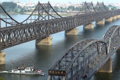 China border trade with North Korea 'very active', report says