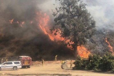 Utility re-energized lines minutes before Maria Fire sparked
