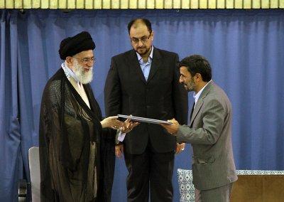 Ahmadinejad reverses course on envoys