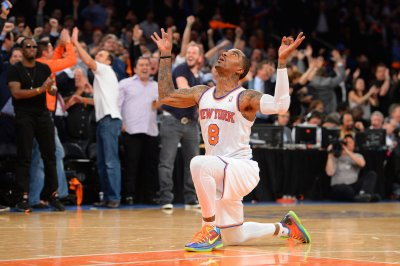 NY Knicks guard J.R. Smith is having a bad week