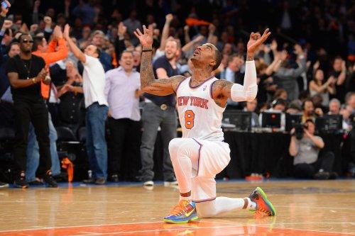 NY Knicks guard J.R. Smith is having a bad week