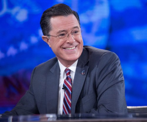 Stephen Colbert pokes fun at Donald Trump's presidential bid