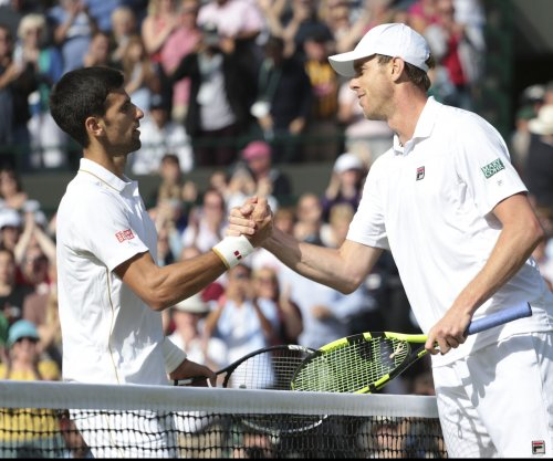 American Sam Querrey shocks Novak Djokovic at Wimbledon