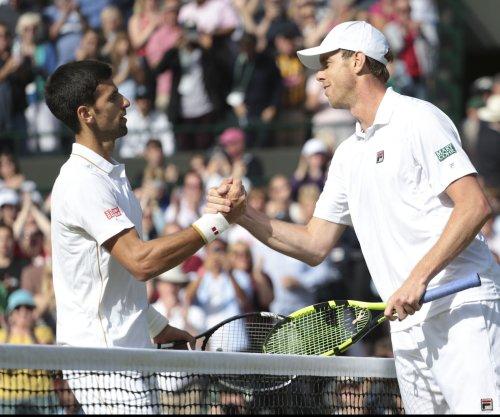 American Sam Querrey shocks Novak Djokovic at Wimbledon