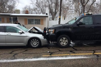 Woman who crashed into deputy's SUV was allegedly distracted by puppy