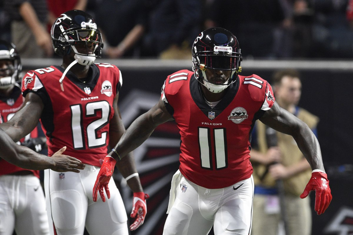 Fantasy Football Atlanta Falcons Julio Jones fine Mohamed Sanu