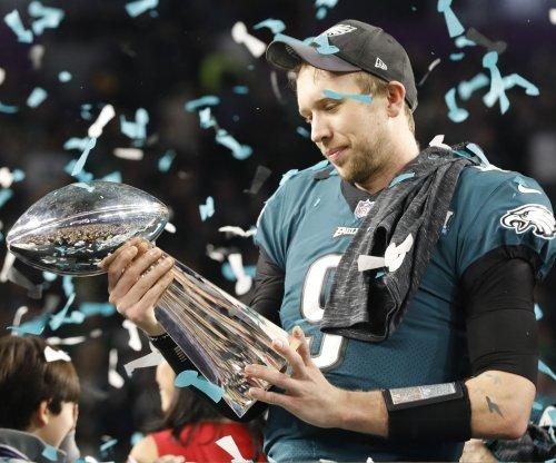 Super Bowl MVP Foles shares message of failure