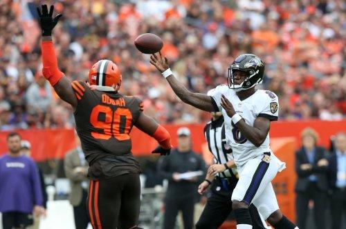Ravens' Lamar Jackson getting first start vs. Bengals