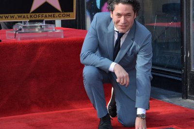 Conductor Gustavo Dudamel gets star on the Hollywood Walk of Fame
