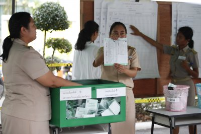 Early results in Thai elections provide no clear winner
