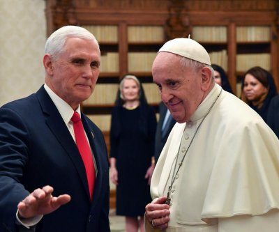 Pence meets privately with Pope Francis at Vatican