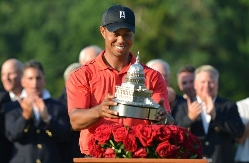 Woods claims AT&T National for 3rd win