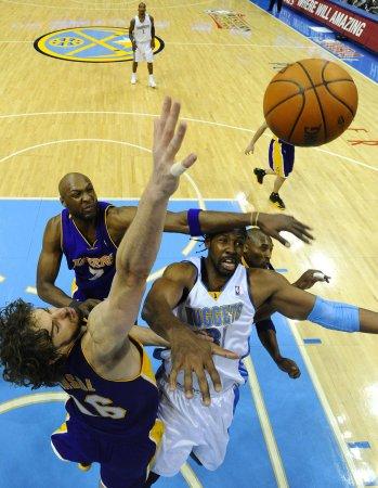 NBA: Denver 120, LA Lakers 101