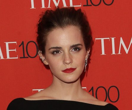 Emma Watson shows support for Keegan Hirst