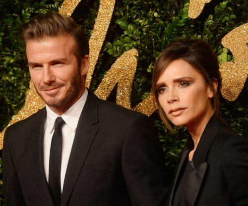 David Beckham celebrates wife Victoria on U.K. Mother's Day