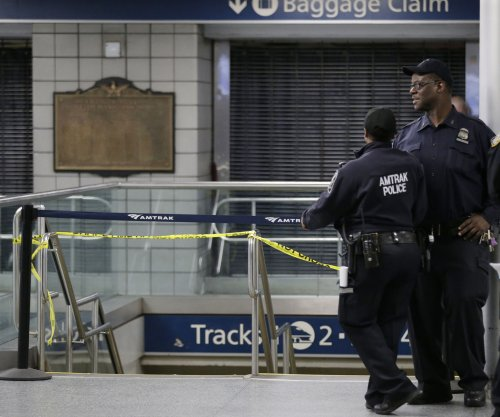Amtrak train derails at New York City's Penn Station