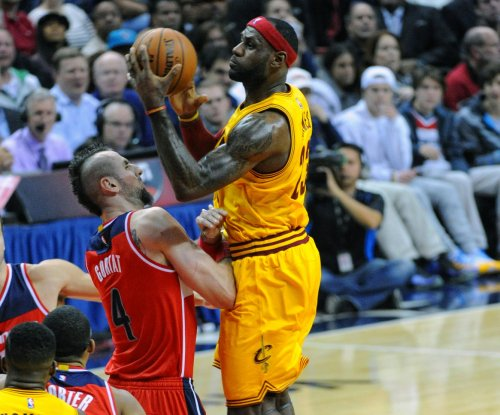 LeBron James, Cleveland Cavaliers top Wizards