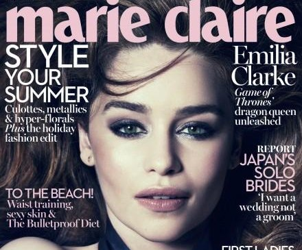 Emilia Clarke reveals she turned down lead in 'Fifty Shades' because of nudity