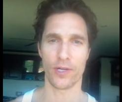 Matthew McConaughey's unknown YouTube channel discovered, gets support from Reddit