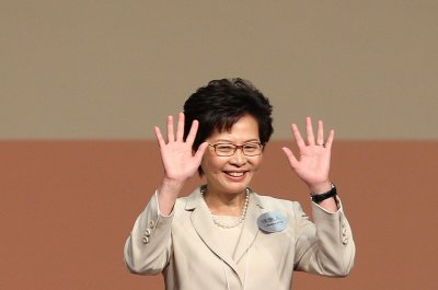 Carrie Lam elected Hong Kong's first female leader