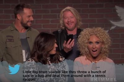 Blake Shelton, Little Big Town read Mean Tweets on 'Jimmy Kimmel Live!'