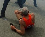 78-year-old Boston runner in viral photo: 'It was really loud'