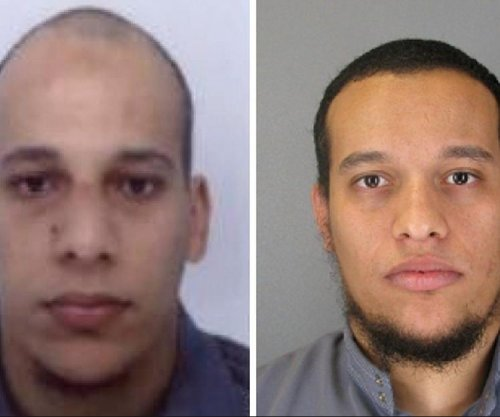 Manhunt intensifies after Charlie Hebdo terrorist suspects rob gas station