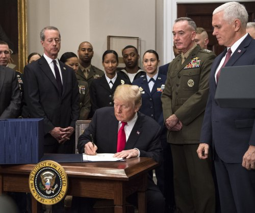2019 defense spending bill gives money for Trump's military parade