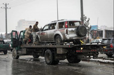 6 dead, 12 injured in Kabul suicide bombing