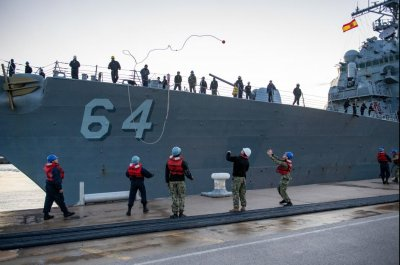 USS Carney returns to Spain following worldwide force patrol