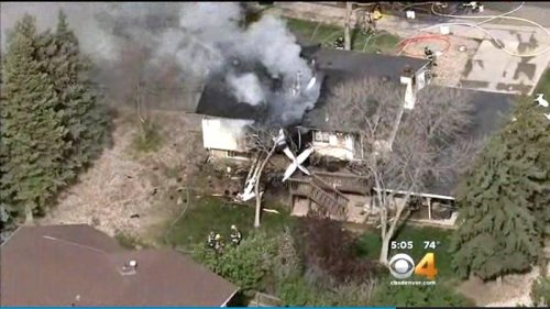 Colorado pilot crashes plane into home he used to own