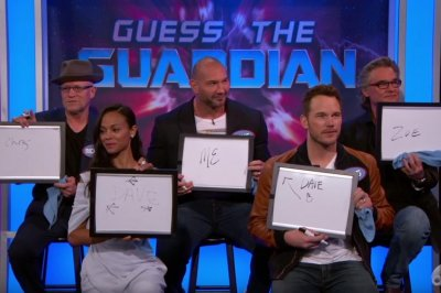 'Guardians of the Galaxy Vol. 2' cast play Guess the Guardian on 'Jimmy Kimmel Live!'