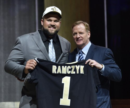 New Orleans Saints sign first-round pick Ryan Ramczyk