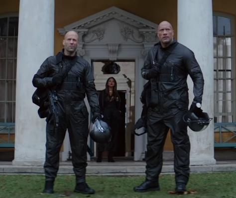 Dwayne Johnson, Jason Statham team up in 'Hobbs & Shaw' trailer