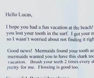 Watch: Boy's message in a bottle gets reply from 'The Tooth Fairy'