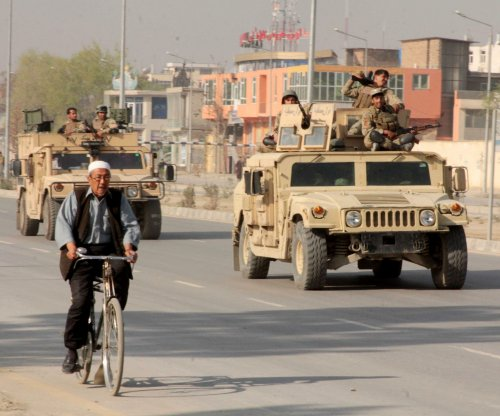 Taliban suicide attack targets NATO convoy in Kabul, 17 injured