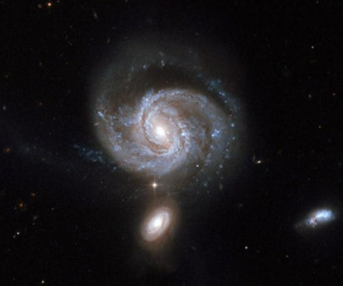 Astronomers study paired black holes in merged galaxies