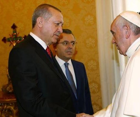 Erdogan becomes first Turkish leader to visit Vatican in 59 years