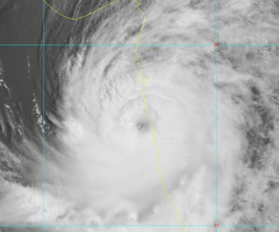 Cyclone Nisarga lashing western India after unprecedented landfall
