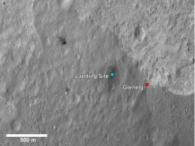 Destination chosen for Mars rover drive