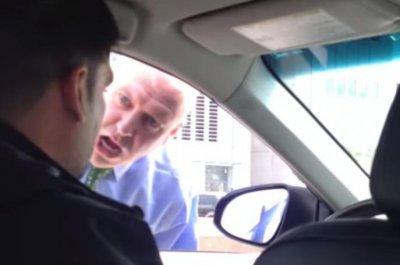 NYPD officer apologizes for yelling at Uber driver