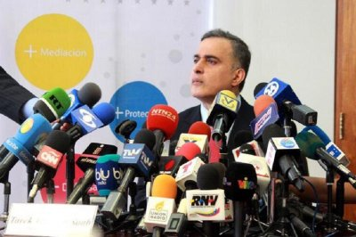 Venezuelan official dismisses son's call to 'end injustice'